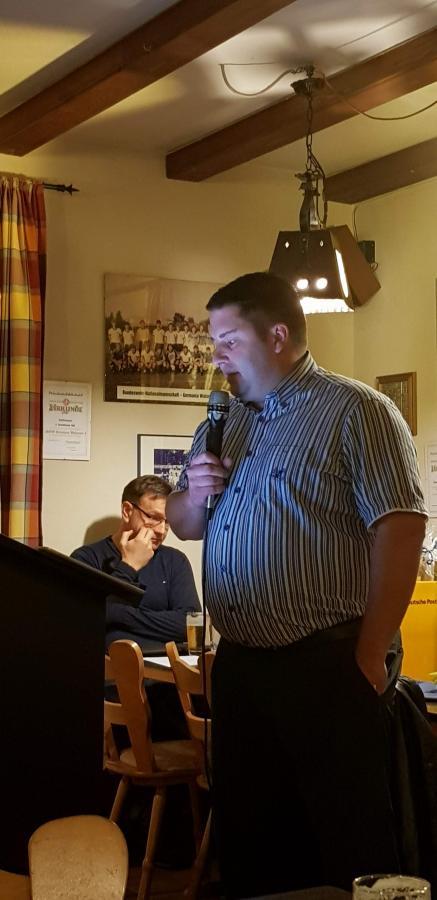 Jugendleiter Henning Heemann zeigt sich sehr zufrieden über die positive Entwicklung innerhalb der Abteilung