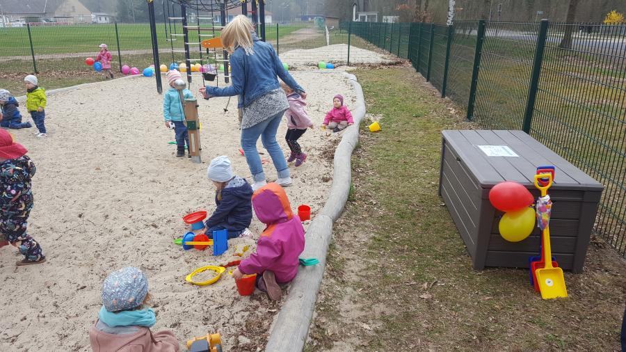 Spielplatz Hangelsberg