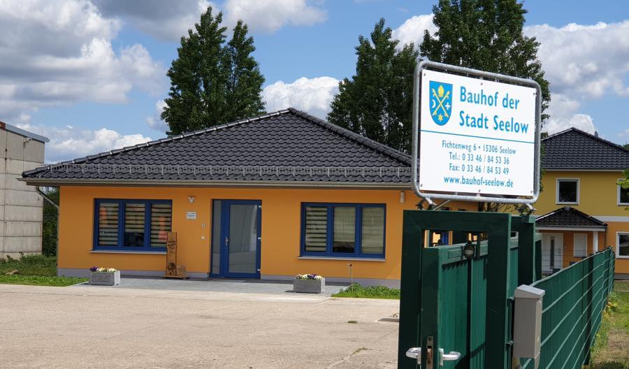 Verwaltungsgebäude Bauhof der Stadt Seelow