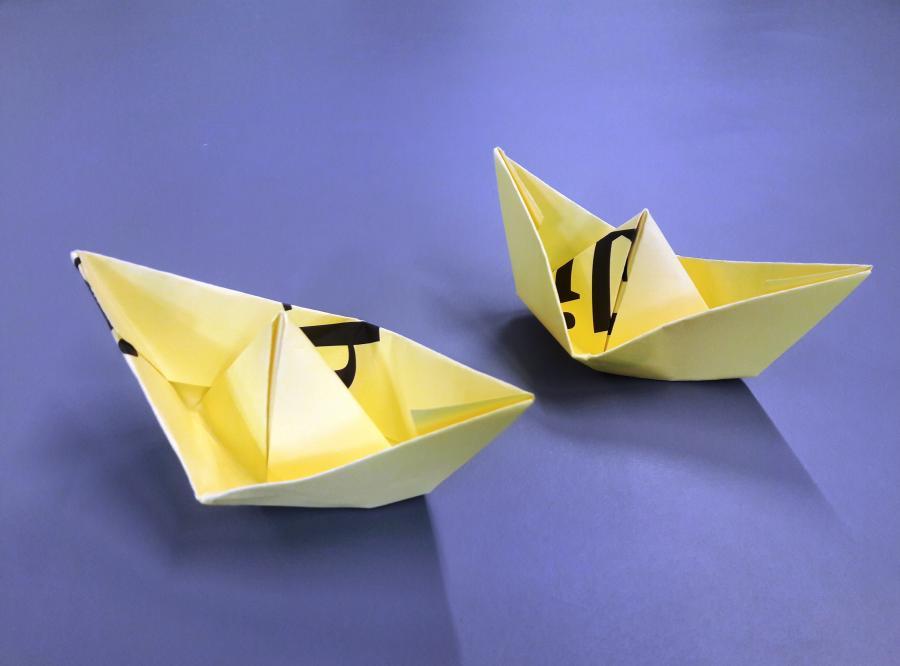 Papierboote