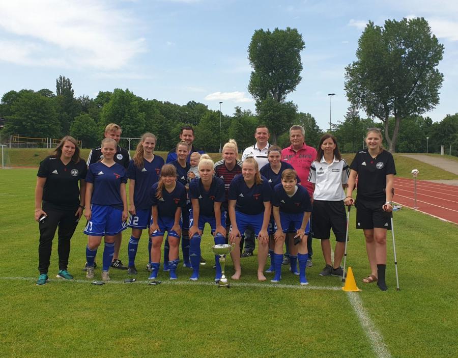 Pokalsieger Frauen 2018/19: FC RSK Freyburg