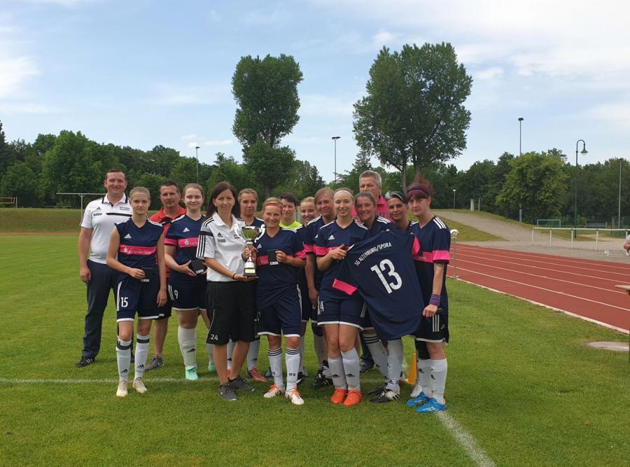 Zweiter im Burgenlandpokal der Frauen 2018/19: SG Spora/Altenburg