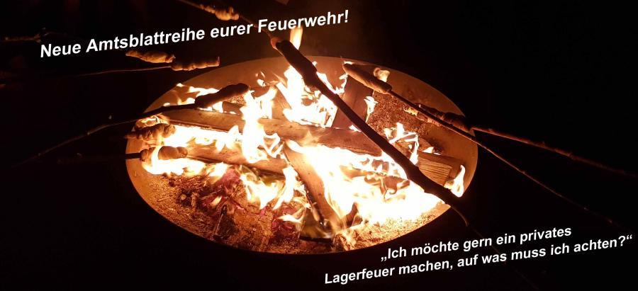 Amtsblattreihe - Lagerfeuer