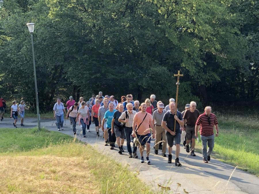 Fuß0wallfahrt 2019 Lamberg Miltach 1