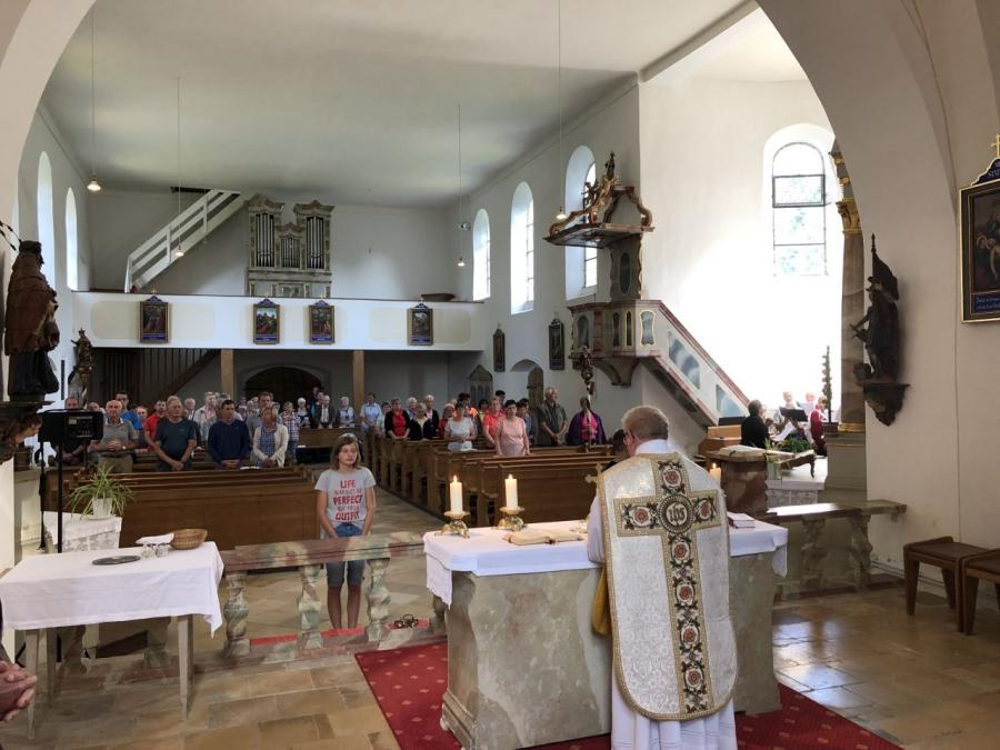 Fuß0wallfahrt 2019 Lamberg Miltach 6