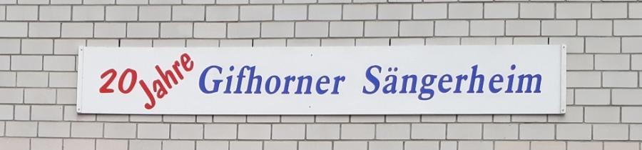 20 Jahre Sängerheim