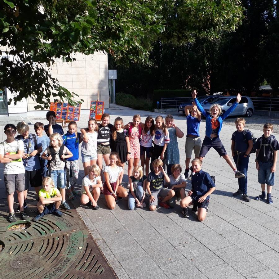 Klasse 6 beim Kinderfilmfest in Bernau