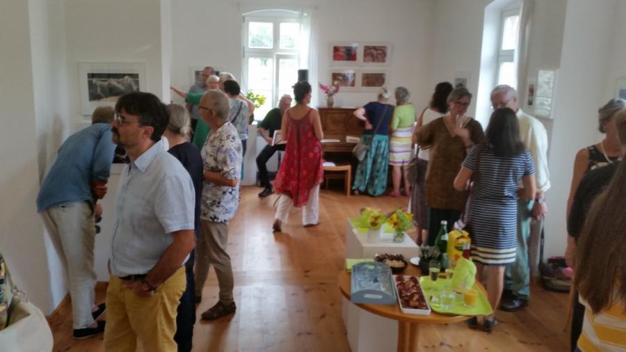 Vernissage Helga Holz 1. September 19