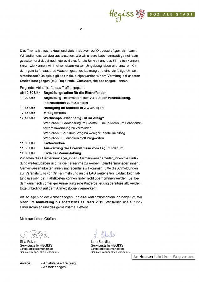 Einladung Landesbewohnertreffen - Seite 2