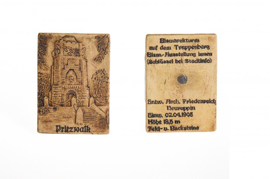 Magnet Bismarckturm (Keramik reliefiert)