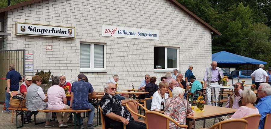 20 Jhre Sängerheim