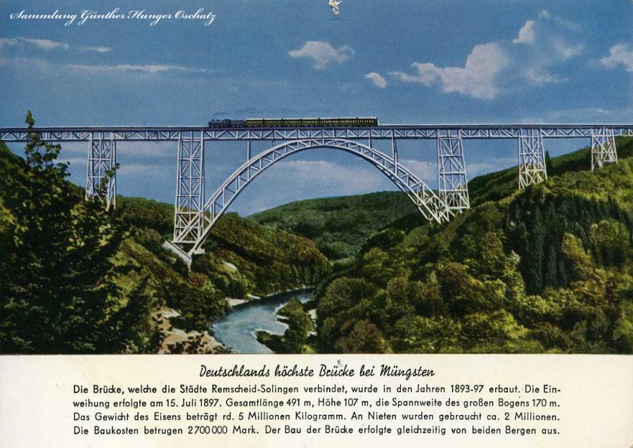 Deutschlands höchste Brücke