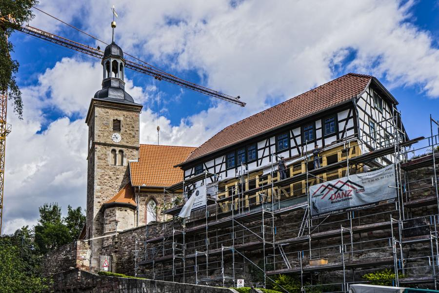 Kirchenburg Walldorf  ©Heinrich Frhr. von Berlepsch