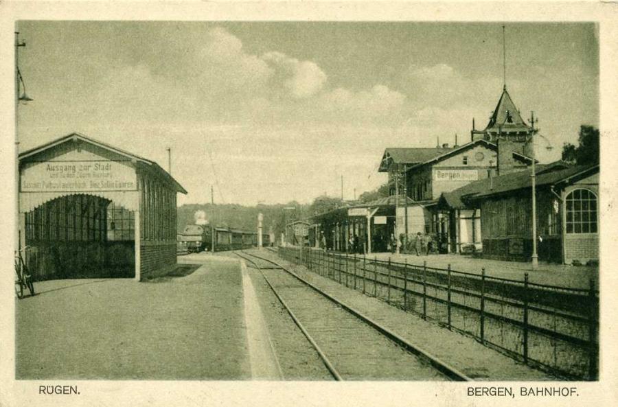 Rügen Bergen Bahnhof