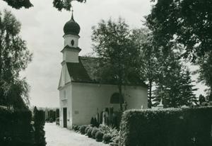 Friedhofkapelle 1960