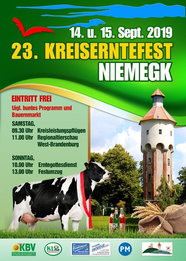 Plakat Kreisentefest 2019