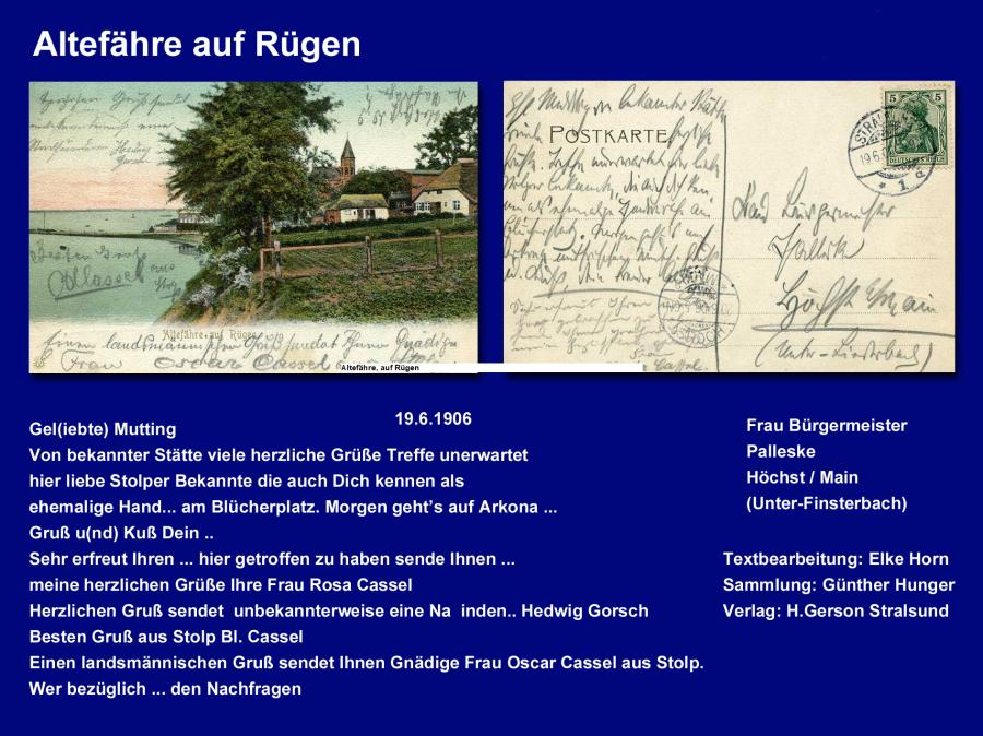 Altefähre auf Rügen