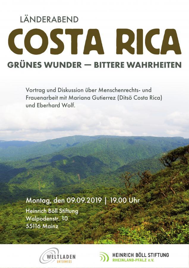 Plakat Costa Rica