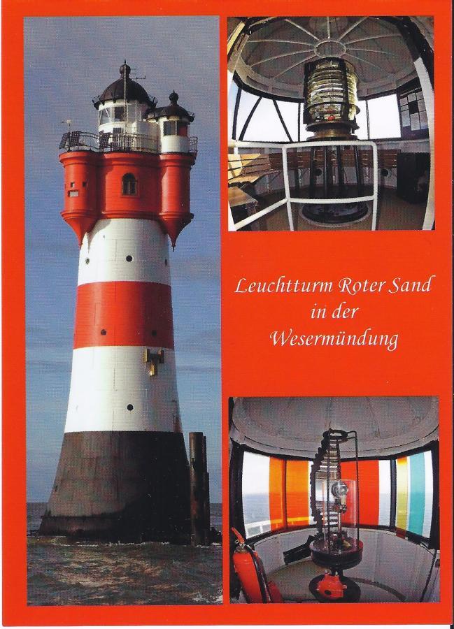 2214 Postkarte Leuchttrum Roter Sand