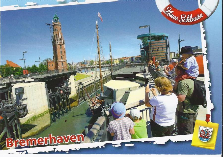 2205 WPK Bremerhaven Neue Schleuse