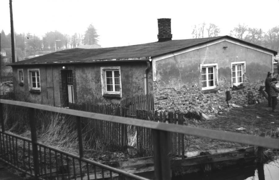 Zustand des Wohnhauses am Hafen im März 1982 (2)