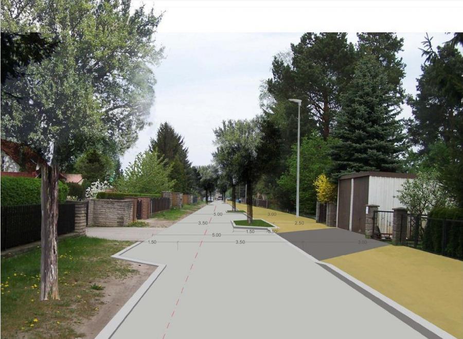 Bald Realität: So wird die neue Hildburghausener Straße aussehen.