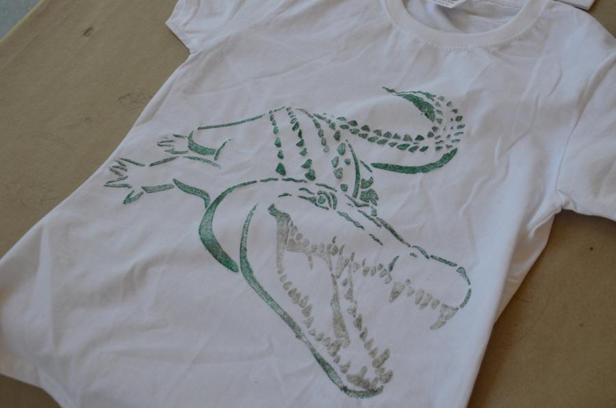 Jugend Freizeit Treff Kitzen T Shirts Bemalen