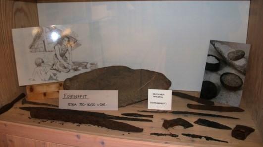 Fundstücke aus der Eisenzeit