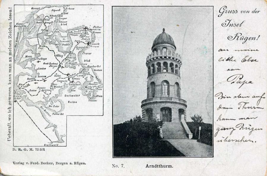 Gruß von der Insel Rügen 1899