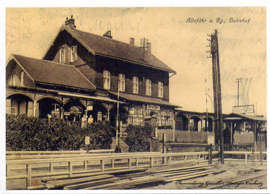 Altefähr a. Rügen Bahnhof