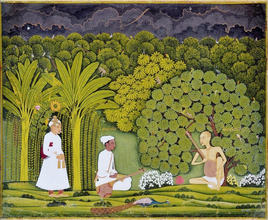 Akbar and Tansen