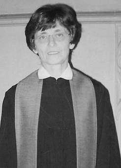 Pfarrerin Ruth Küstner (vorher Galiläa-Kirchengemeinde, nach der Fusion auch der Galiläa-Samariter-KG)