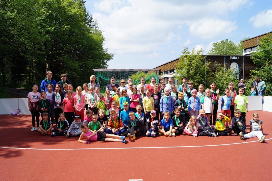 Sporttag Gruppe