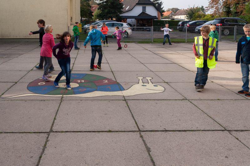 Spiele auf dem Schulhof