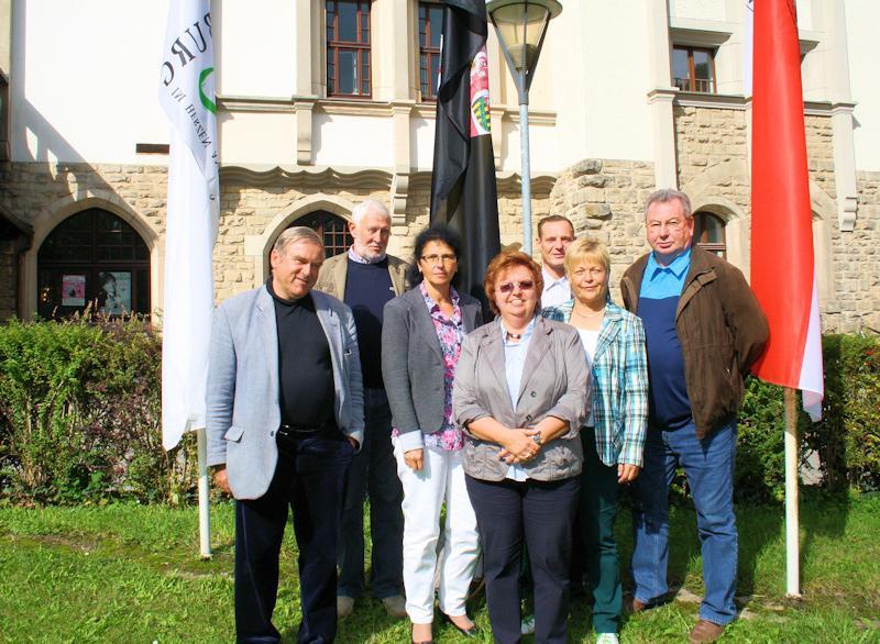 Delegation des KSB Saalekreis