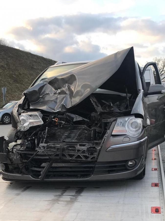 Verkehrsunfall Gewerbepark 26.03.2019