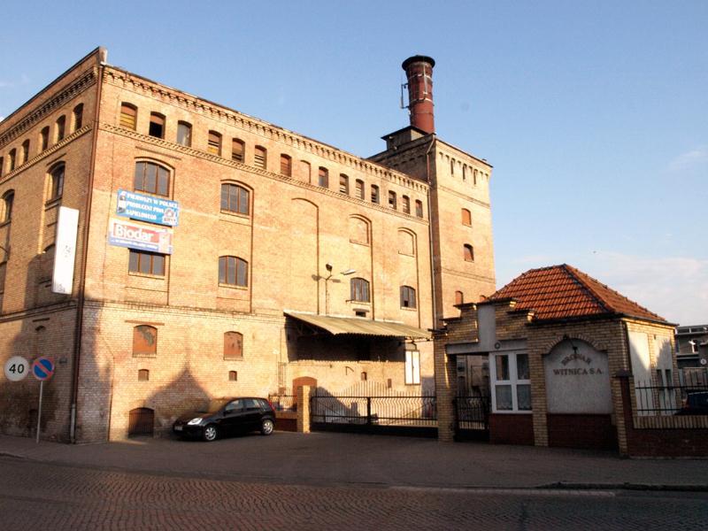Die historische Brauerei in Witnica