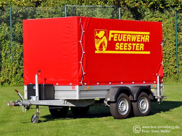 Feuerwehranhänger FwA-Transport Feuerwehr Seester