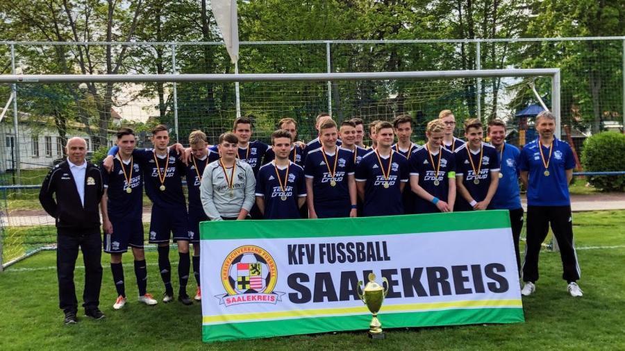SV BW 1921 Farnstädt // Kreispokalsieger A-Junioren 2018/2019
