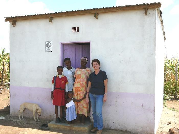 Haus für die AIDS-Waisenkinder