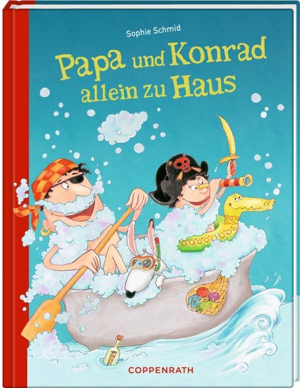 Papa und Konrad allein zu Hause