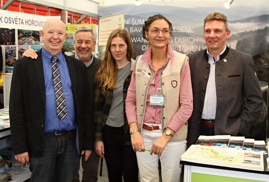 Gemeinsam auf der Tourismusmesse in Prag