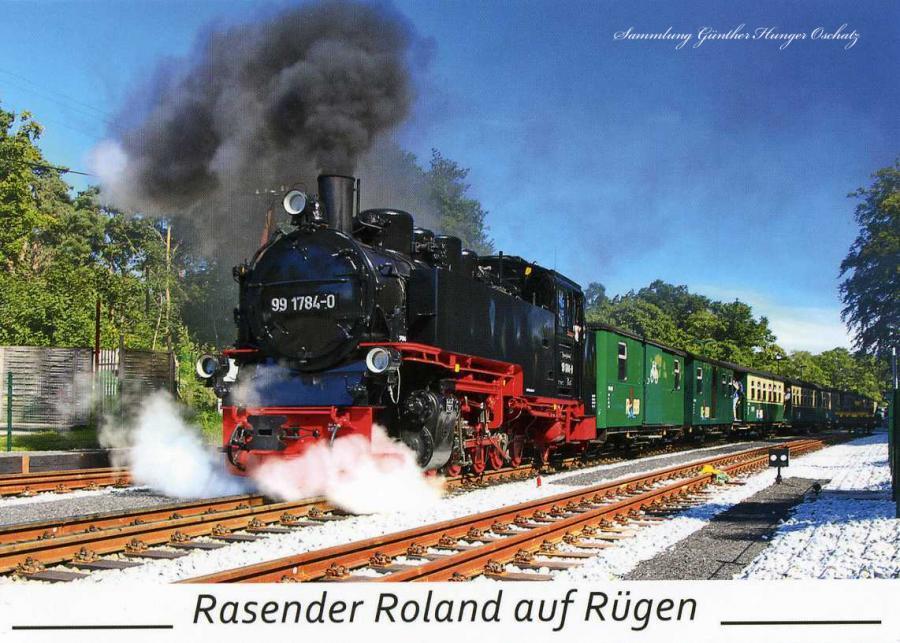 Rasender Roland auf Rügen
