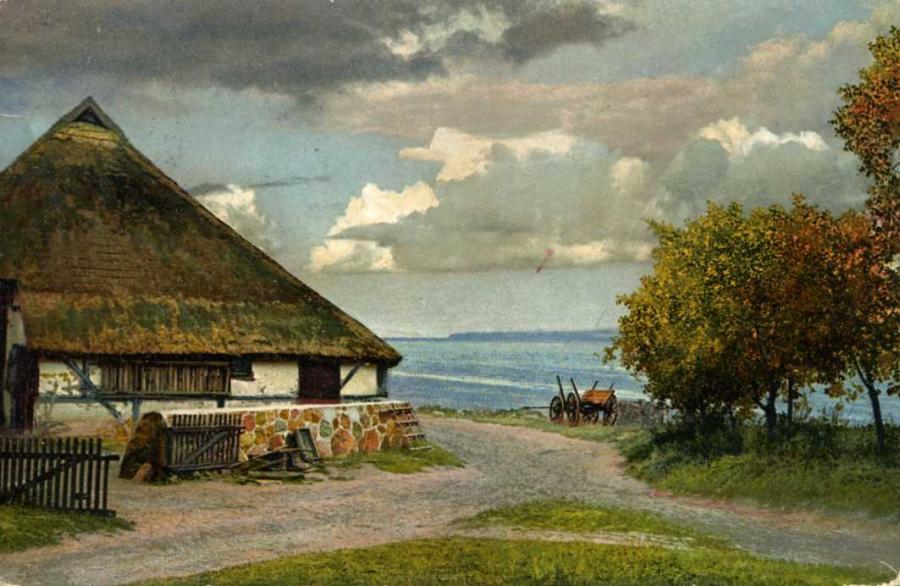 Fischerhaus in Reddevitz 1912