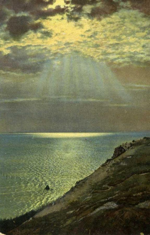 Sonnenspiegelung am Hagenschen Wieck