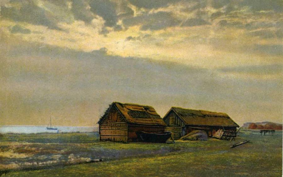 Fischerhütten bei Lobbe