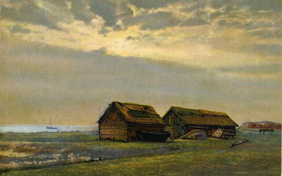 2878 Fischerhütten bei Lobbe