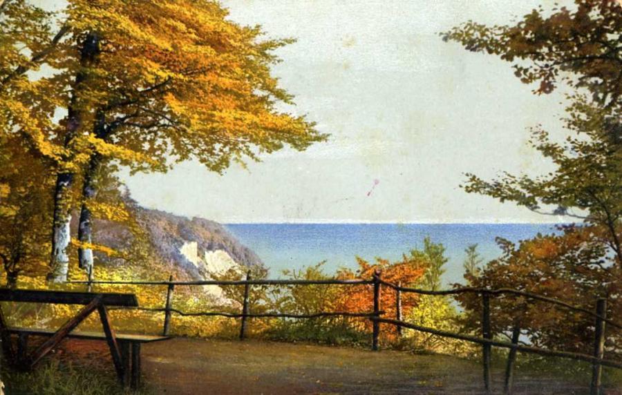 Blick auf die See - Wissower Klinken