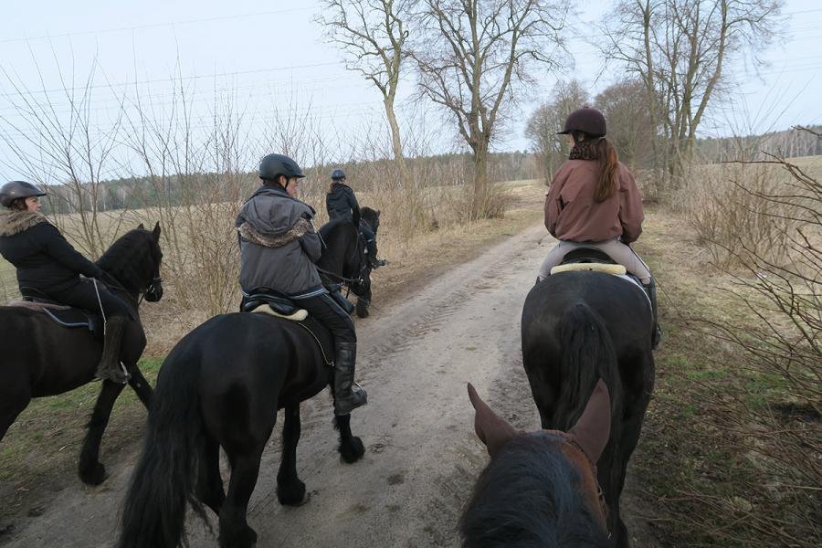 Osterritt - Unterwegs nach Marzahne