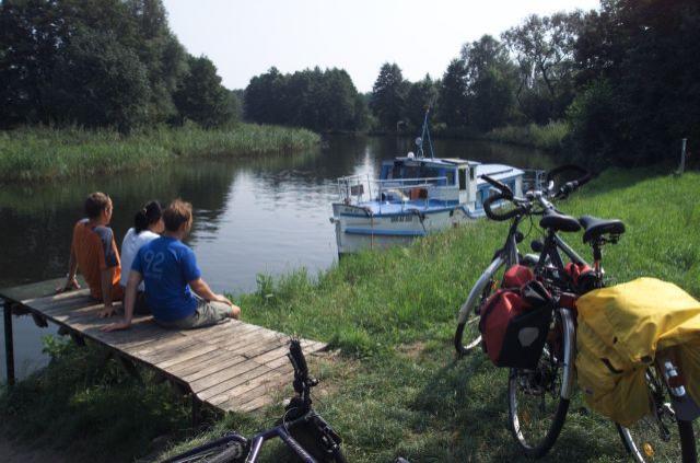 Radfahrerpause (c) Schwarz/TMB-Fotoarchiv